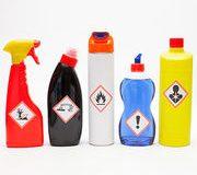 Symboles de danger sur les produits d'entretien – Adieu définitif à la croix de Saint-André