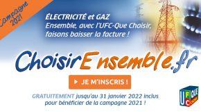 Report de l'offre Energie Moins Chère Ensemble